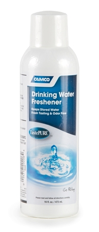 Camco 40206 TastePURE Drinking Water Freshener - 16oz Questions & Answers