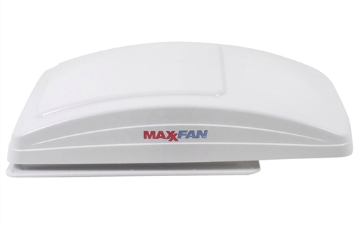 MaxxAir 00-07000K MaxxFan 10 Speed Deluxe Vent Fan With Remote - White