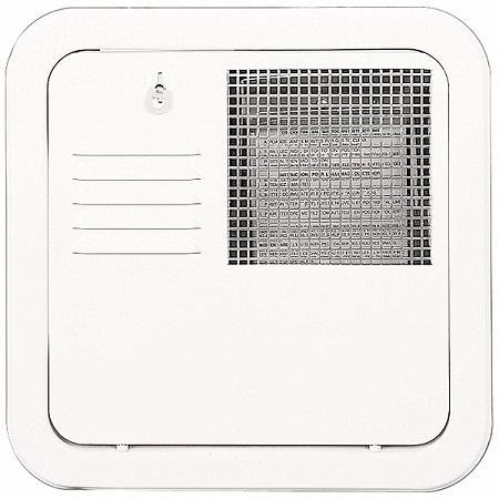 Suburban 6259APW 10-Gallon Water Heater Access Door - Polar White