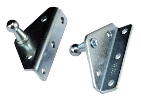 JR Products BR-12552 Gas Spring Angled Out Mounting Brackets Questions & Answers