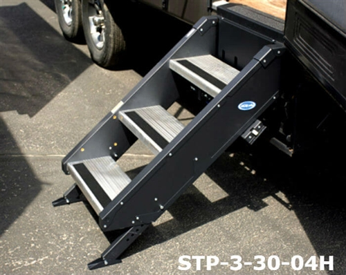 MORryde STP-3-30-04H StepAbove 3-Step RV Entry Steps - 30'' to 32'' Door Width Questions & Answers