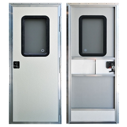 AP Products 015-247011 Off White 24 x 70'' Square RV Entry Door Questions & Answers