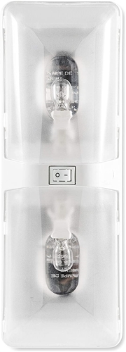 Camco 41320 Double Dome Light Fixture - 12V Questions & Answers