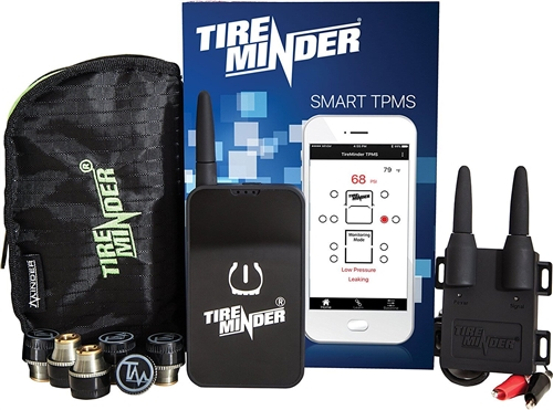 TireMinder TM22131 Smart TPMS For Smartphone - 4 Transmitters Questions & Answers