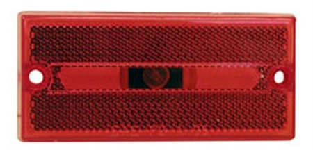 Peterson V132R Rectangular Side Marker Light - Red Questions & Answers