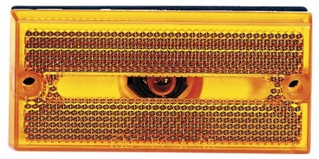 Peterson V132A Rectangular Side Marker Light - Amber Questions & Answers