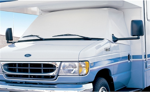 ADCO 2407 Windshield Cover For 1996-2020 Ford Class C RVs With Mirror Cut-Outs Questions & Answers