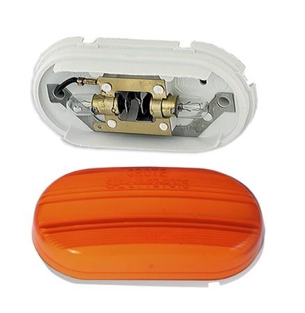Grote 45263 Clearance Light - Amber Questions & Answers
