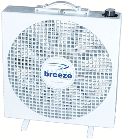 Does the Endless Breeze fan push a lot of air?