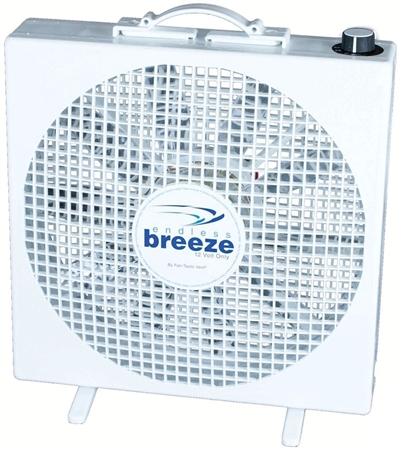 Fan-Tastic 01100WH Endless Breeze 3-Speed Fan - 12V Questions & Answers