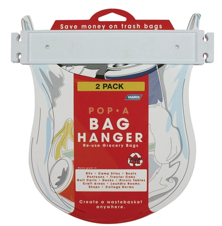 Camco 43593 Pop-A-Bag Hanger - 2 Pack Questions & Answers