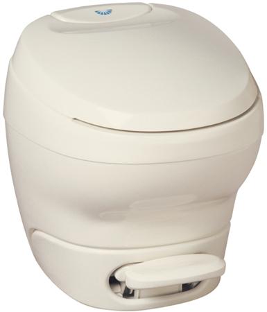 Thetford 31120 Bravura Low Profile RV Toilet Without Water Saver - White