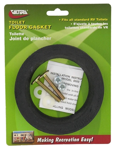 Valterra Q23653VP Toilet Floor Gasket With Hold Down Bolts Questions & Answers