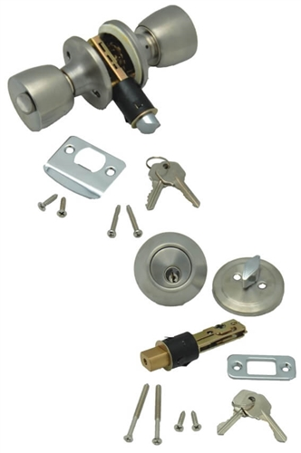 AP Products 013-234-SS Combo Lock Set - Stainless Steel Questions & Answers