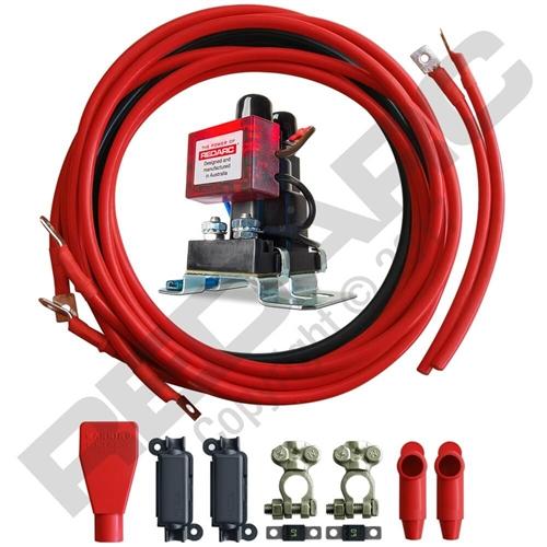 Redarc SBI12KIT Smart Start Battery Isolator And Wiring Kit - 12V