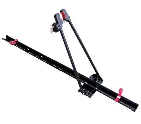 will this Swagman 64720 bike rack fit two cross bars which are located 50 inches apart ?