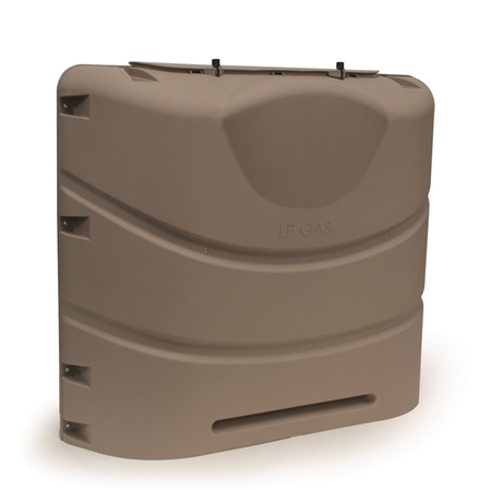 Camco 40530 Heavy Duty RV Propane Tank Cover - Bronze - 30 lbs Questions & Answers