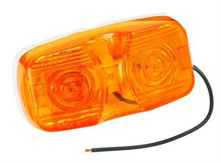 Bargman 32-003440 Amber Dual Bulb Clearance Light Questions & Answers