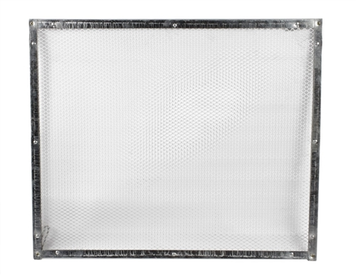 Screen size for the Camco 43980 Screen Door Grille.