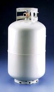Manchester Tank 1220TC.4 Steel Tank LP Gas Cylinder - 40Lbs Questions & Answers
