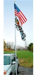 So I am looking for a heavy duty 20 foot flag pole for an RV so I want the receiver hitch mount.  What do you have?