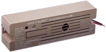Safe-T-Alert 30-441-P-BR Classic LP Gas Alarm Brown Surface Mount Questions & Answers