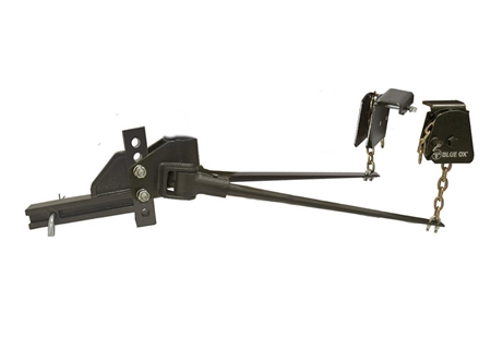 What is the shipping weight of the Blue Ox BXW0550 SwayPro Weight Distribution system (with bars) - thank you