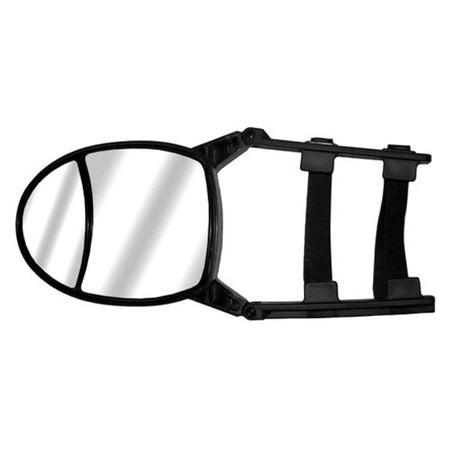 CIPA 11953 Dual-View Adjustable Clip-On Tow Mirror