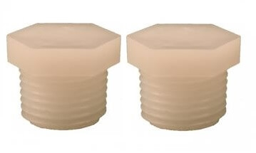 Atwood 91857 Water Heater Drain Plug - 1/2'' NPT - 2 Pack Questions & Answers
