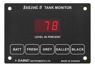 Garnet 709-4 SeeLevel II 4 Monitor - Monitor Only
