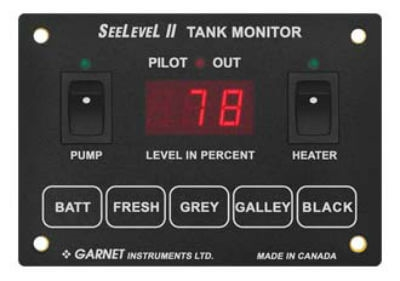 Do you have a Garnet Seelevel System that monitors a water heater that runs on both gas and electric?