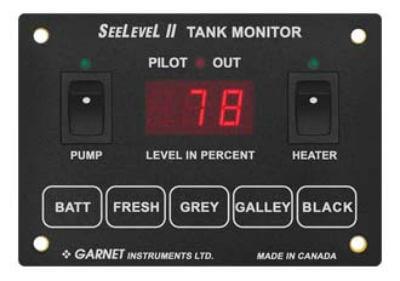 Garnet 709-4PH SeeLevel II 4 Tank Monitor - Monitor Only