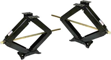 BAL 24002D Leveling Scissor Jack- 24'' - 7500 lb - Set of 2 Questions & Answers