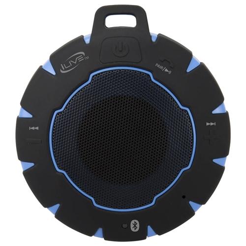 iLive ISBW157BU Waterproof Wireless Bluetooth Speaker
