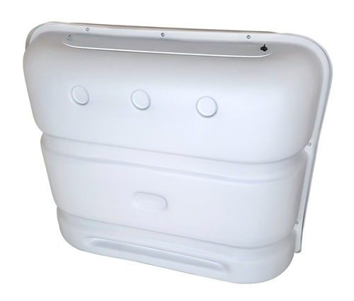 Icon 00386 Deluxe Propane Tank Cover - Polar White