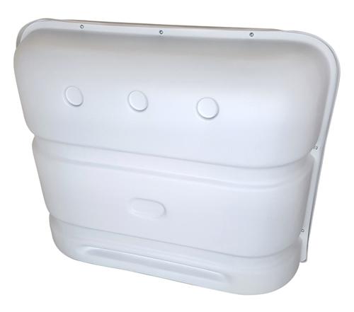 Icon 00385 Standard Propane Tank Cover - Polar White