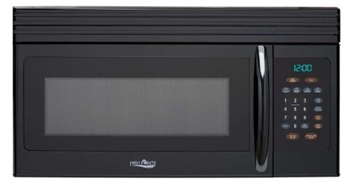High Pointe EM044KIW-B Over The Range Microwave Oven - Black Questions & Answers