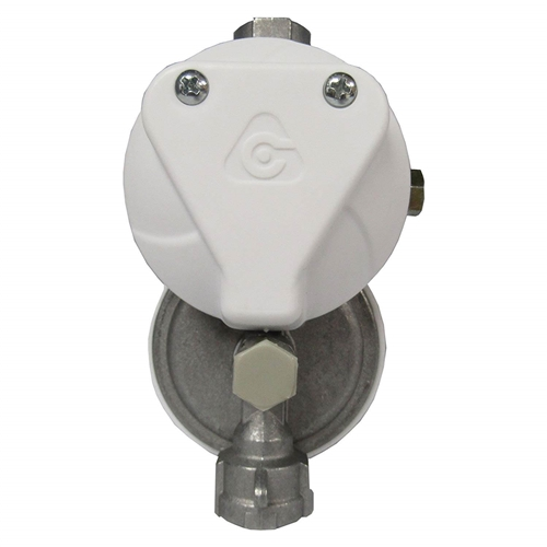 """Cavagna 52-A-490-0018 Two Stage Propane Regulator Without Shutoff Valve - 1/4"""""""