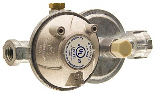 Cavagna 52-A-490-0020 Two Stage Propane Regulator With Shutoff Valve - 1/4'' Questions & Answers