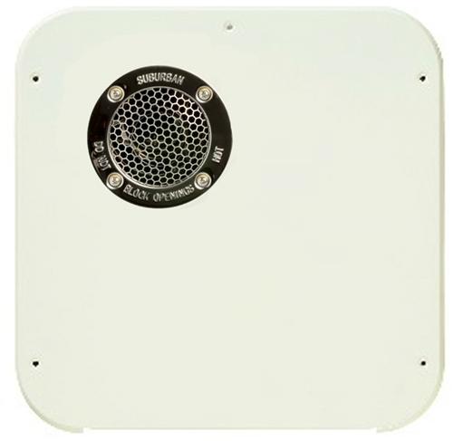 Suburban 6376APW Water Heater Access Door - 6-Gallon - Polar White