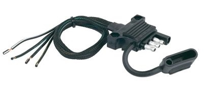 Husky Towing 30495 Trailer End Wiring 4-Way Flat Connector