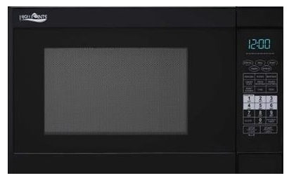 High Pointe EC028BMR-B Microwave Convection Oven With Grill And Turn Table