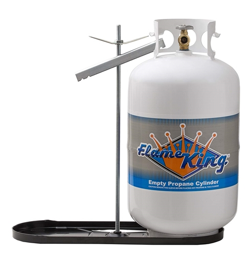 Flame King KT30MNT Dual RV Propane Tank Rack With Hold Down Clamp Questions & Answers