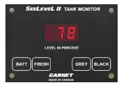 Garnet 709-RVC-NLP SeeLevel II Tank Monitoring System with Alarm - Monitor Only Questions & Answers