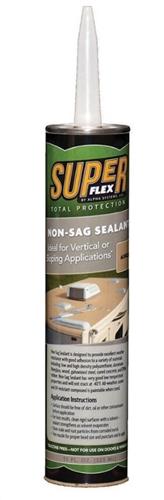 Alpha Systems N101006T SuperFlex Non-Sag Roof Sealant - 11 Oz