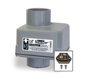"""LSL Products ILAC-1.25 120 VAC In Line RV Holding Tank Deodorizer Fan 1.25"""" I.D."""