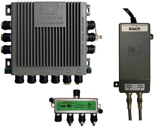 Winegard SWM-D30 Single Wire Multi-Switch Kit