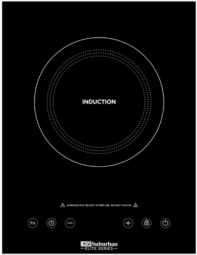Suburban 3308A Single Burner Glass Induction Cooktop Questions & Answers