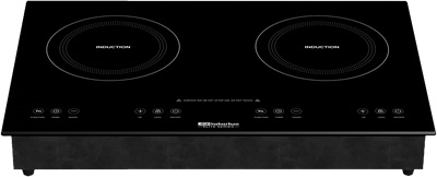 What is the cutout size to install in countertop for the Suburban 3309A double burner induction cooktop?
