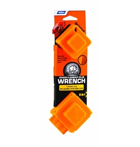 Camco 39755 RhinoFLEX 6-In-1 Sewer Cleanout Plug Wrench Questions & Answers